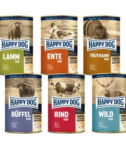 happy-dog-nassfutter-pur-probier-paket-6x400g