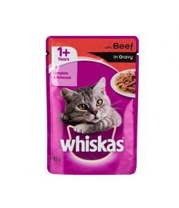 Whiskas-with-Beef-in-Gravy-Cat-Food-85g-8410136004209